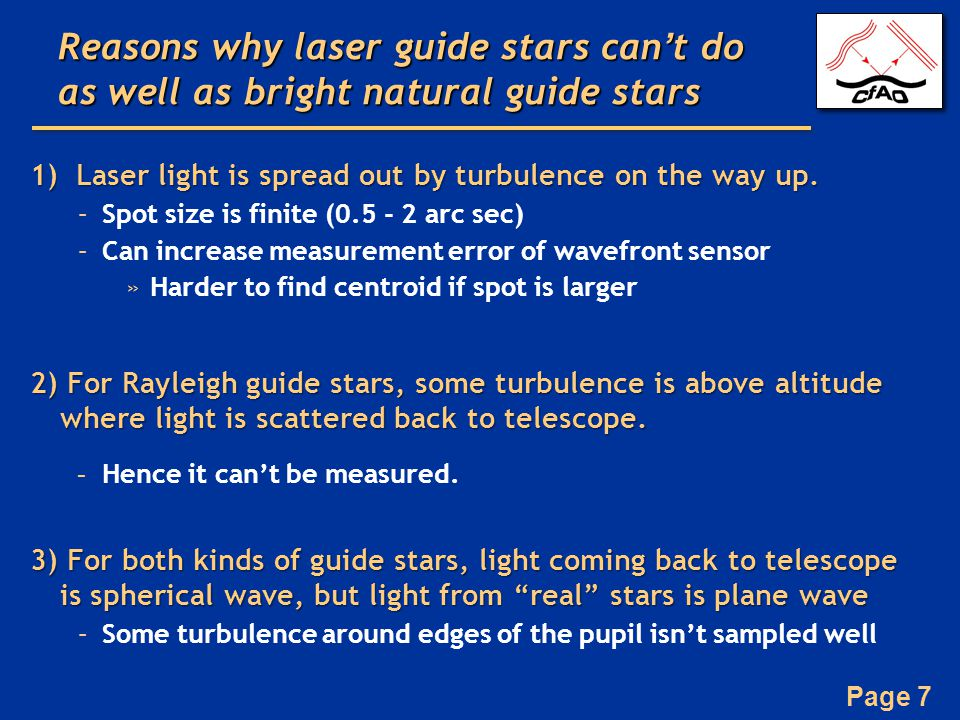 Page 48 Types of lasers: Outline Principle of laser action Lasers used for Rayleigh guide stars Lasers used for sodium guide stars