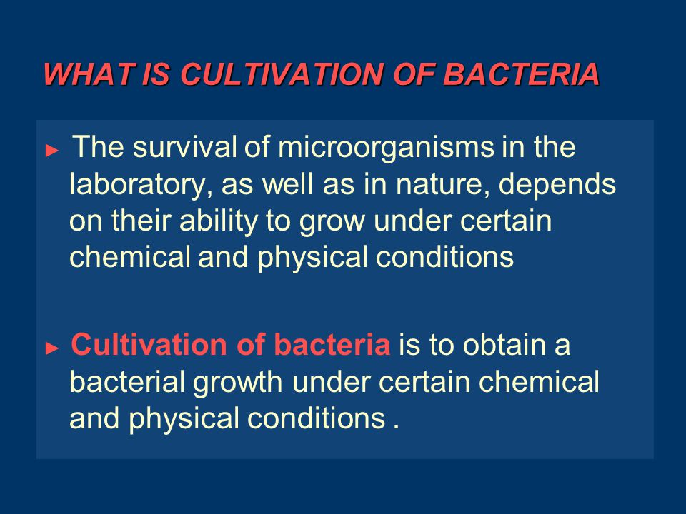 BACTERIAL GROWTH ► An increase in population number of a bacteria by reproduction ► Not an increase in cell size ► Most bacteria reproduce by Binary Fission ◌ ◌ The cell doubles in size ◌ Replicate the chromosome ◌ Forms a septum in the center ◌ Synthesizes a cell wall at the septum ◌ Daughter cells separate