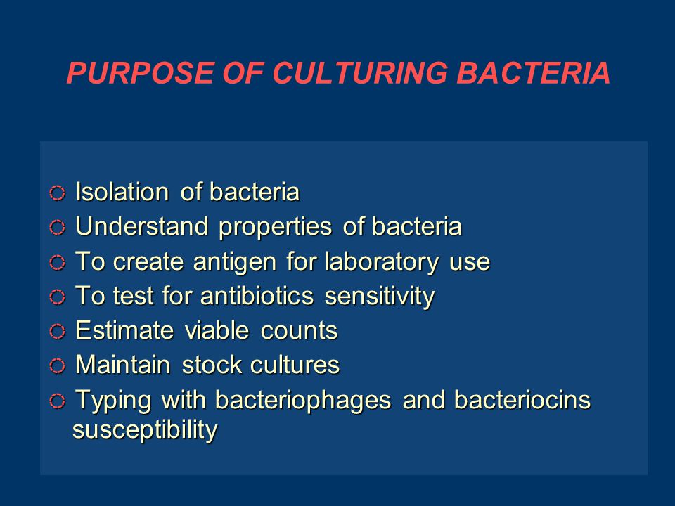 A SELECTIVE MEDIUM ● ● This media supports the growth of desired organisms while inhibiting the growth of many or most of the unwanted ones ◌ ◌ MacConkey Agar.