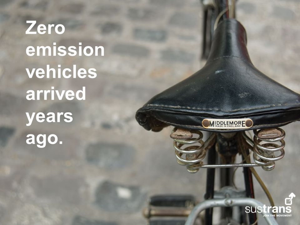 Zero emission vehicles arrived years ago.