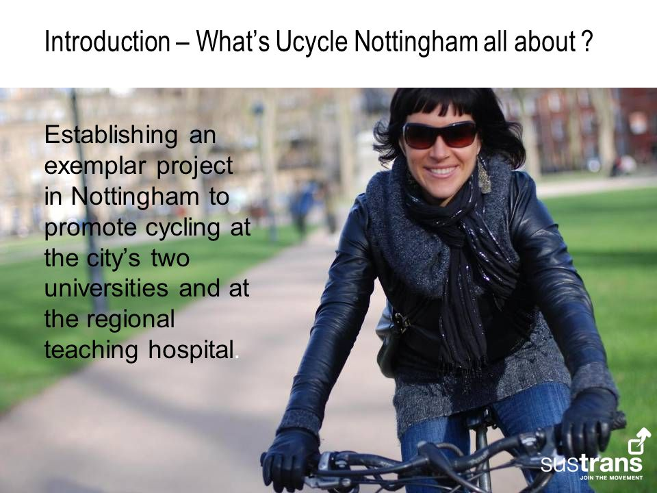 Introduction – What's Ucycle Nottingham all about .