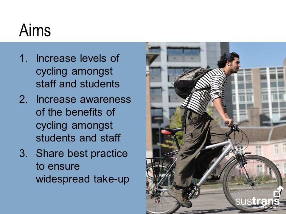 Successes 1.Partnership working 2.Bicycle Business Mileage increased at the UoN from 5p per mile to 20p per mile 3.460 Ucycle Hire Bikes 4.Staff Cycle scheme relaunched at NTU and NUHT 5.Getting cycling embedded in the day to day functions of the partners; e.g.