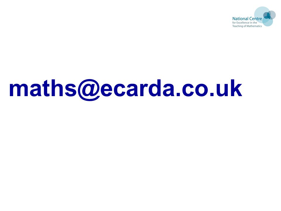 maths@ecarda.co.uk