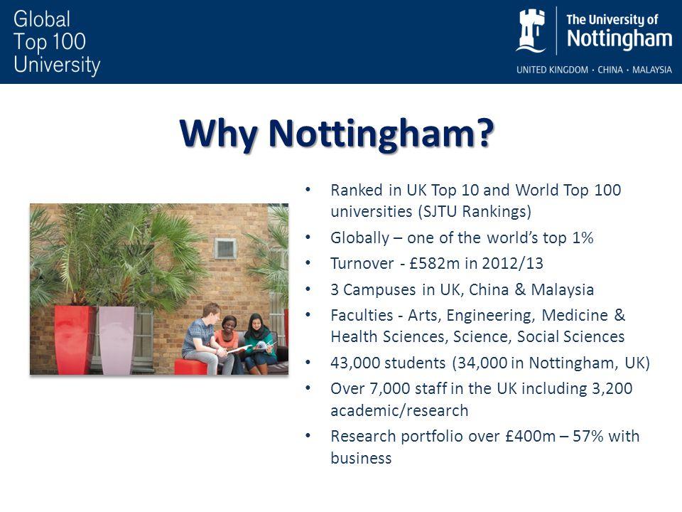 Why Nottingham.