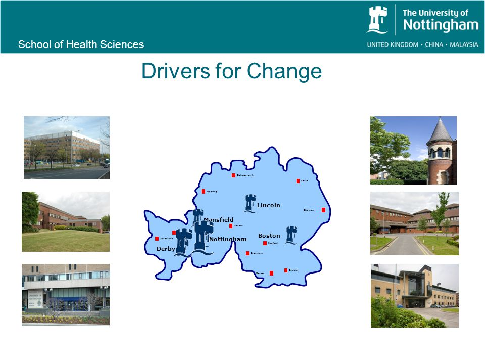 School of Health Sciences Move to paperless approaches Drivers for Change