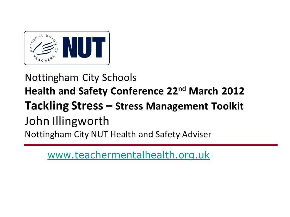 In this presentation : What is Stress.