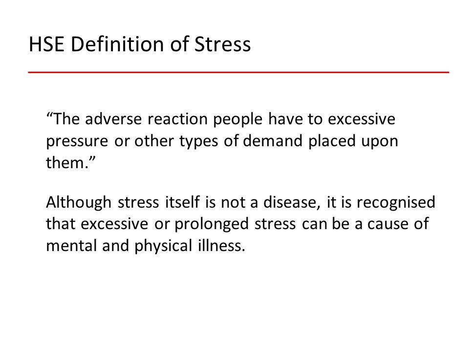 The benefits of tackling stress.