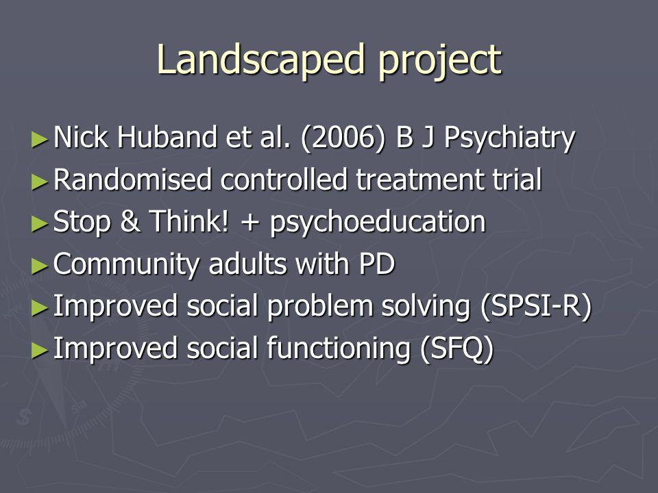 Landscaped project ► Nick Huband et al.