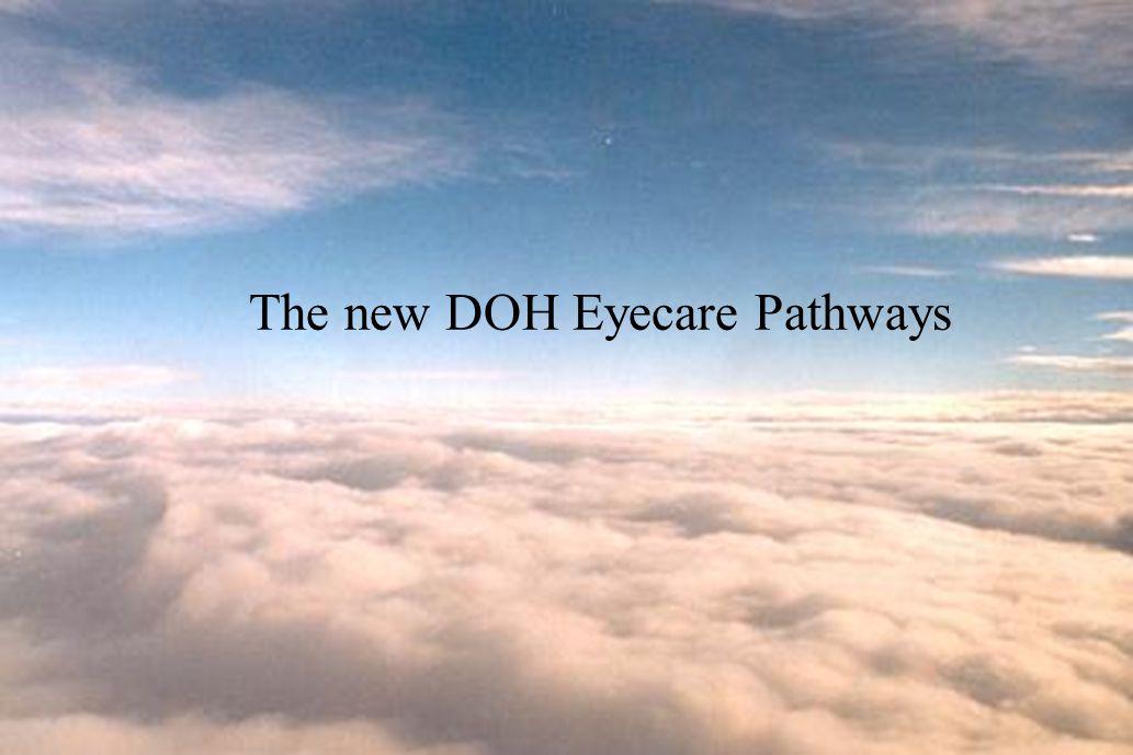 The new DOH Eyecare Pathways