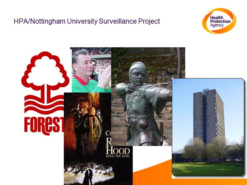 HPA/Nottingham University Surveillance Project