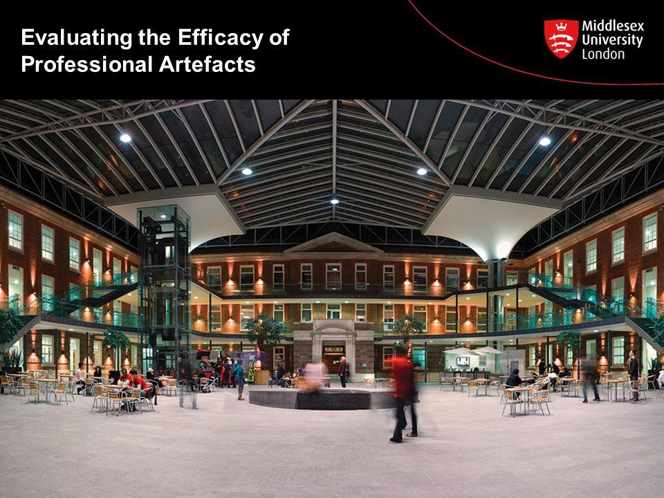 Evaluating the Efficacy of Professional Artefacts