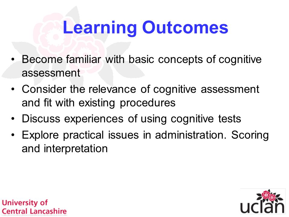 44 Star cancellation Halligan, Cockburn and Wilson, (1991) Behavioural Inattention Test Un-timed test of visual inattention Available in 2 versions (allow retesting) Mean score of misses for 50 norms = 0.28 (at most 2 missed) Cut of score of 3 or more = failure (inattention present)