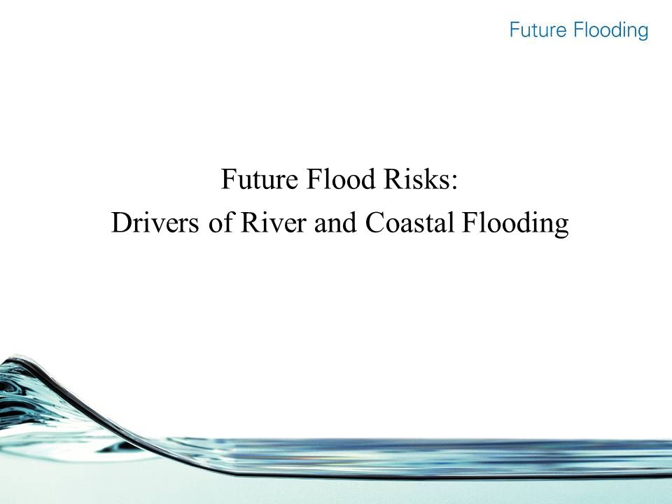 Future Flood Risks: Drivers of River and Coastal Flooding