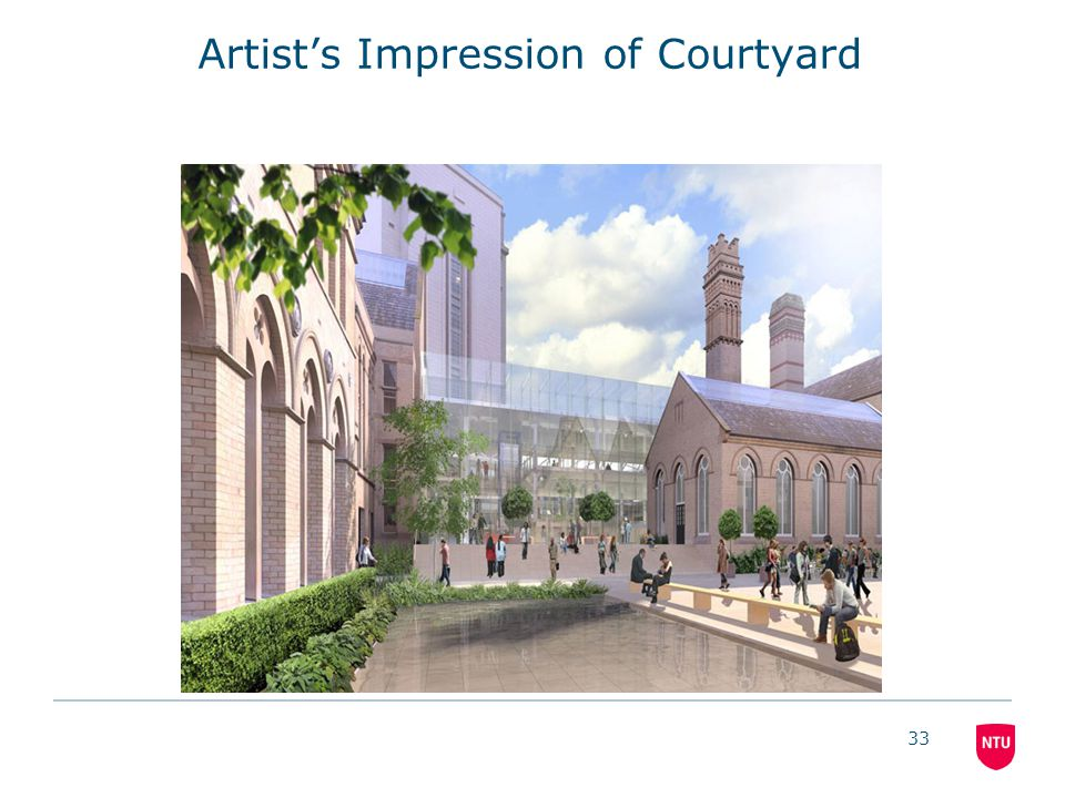 33 Artist's Impression of Courtyard