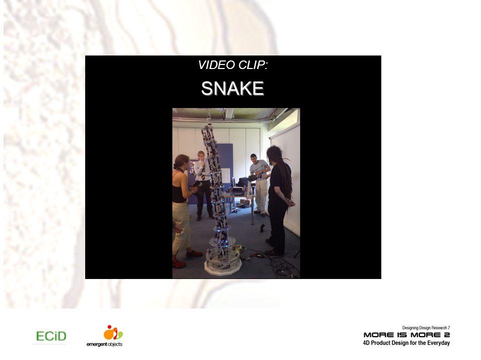VIDEO CLIP:SNAKE