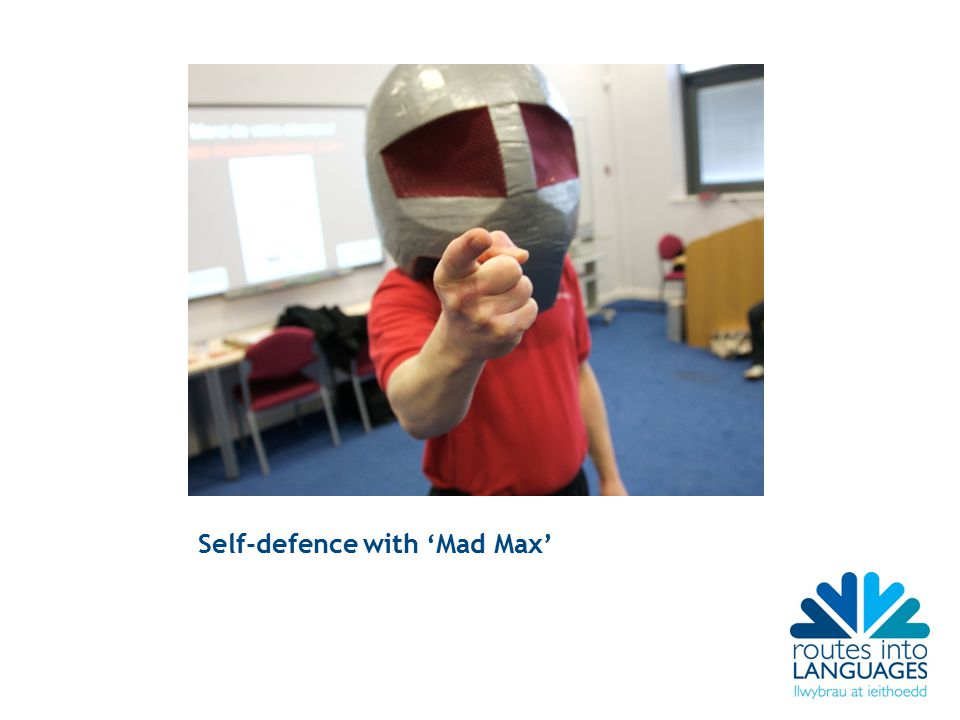 Self-defence with 'Mad Max'