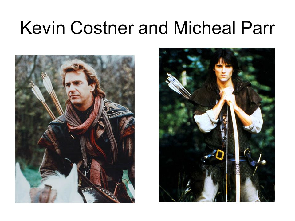 Kevin Costner and Micheal Parr