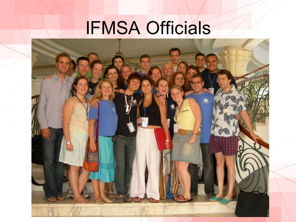 IFMSA Officials