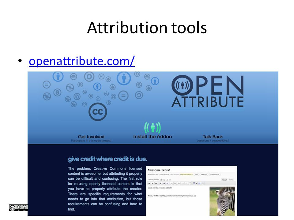 Attribution tools openattribute.com/