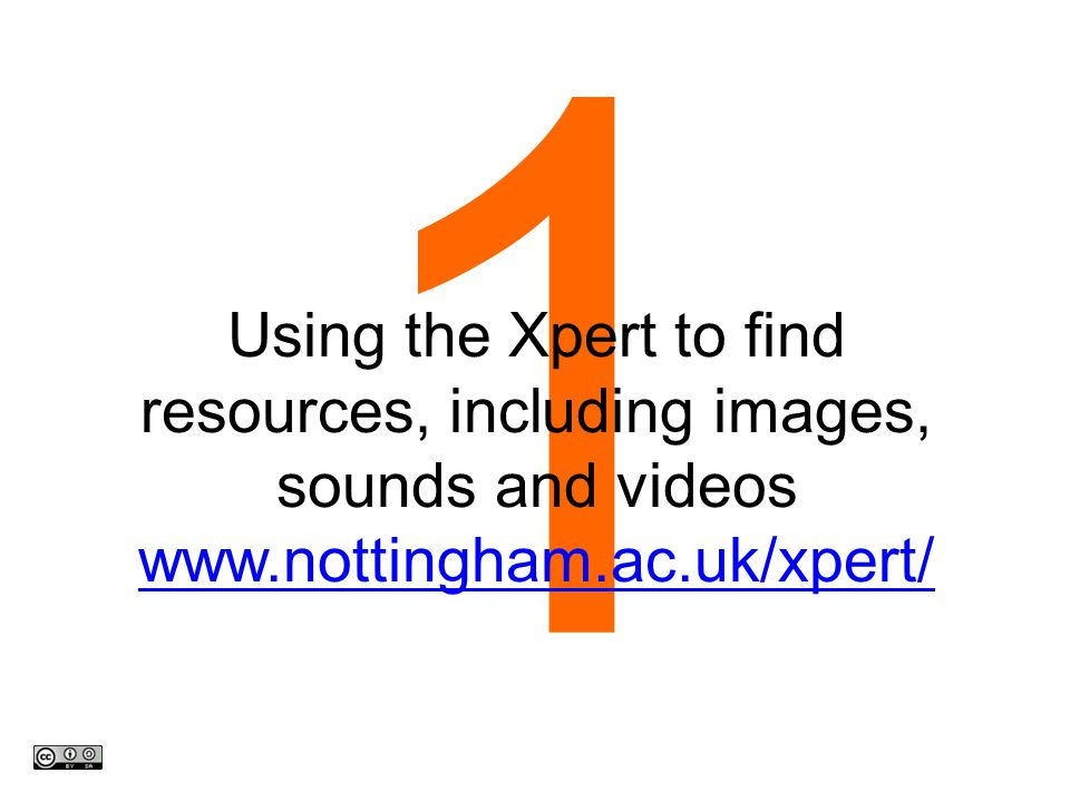 2 Using Flickr advanced search for photos, diagrams and video www.flickr.com/search/advance d/