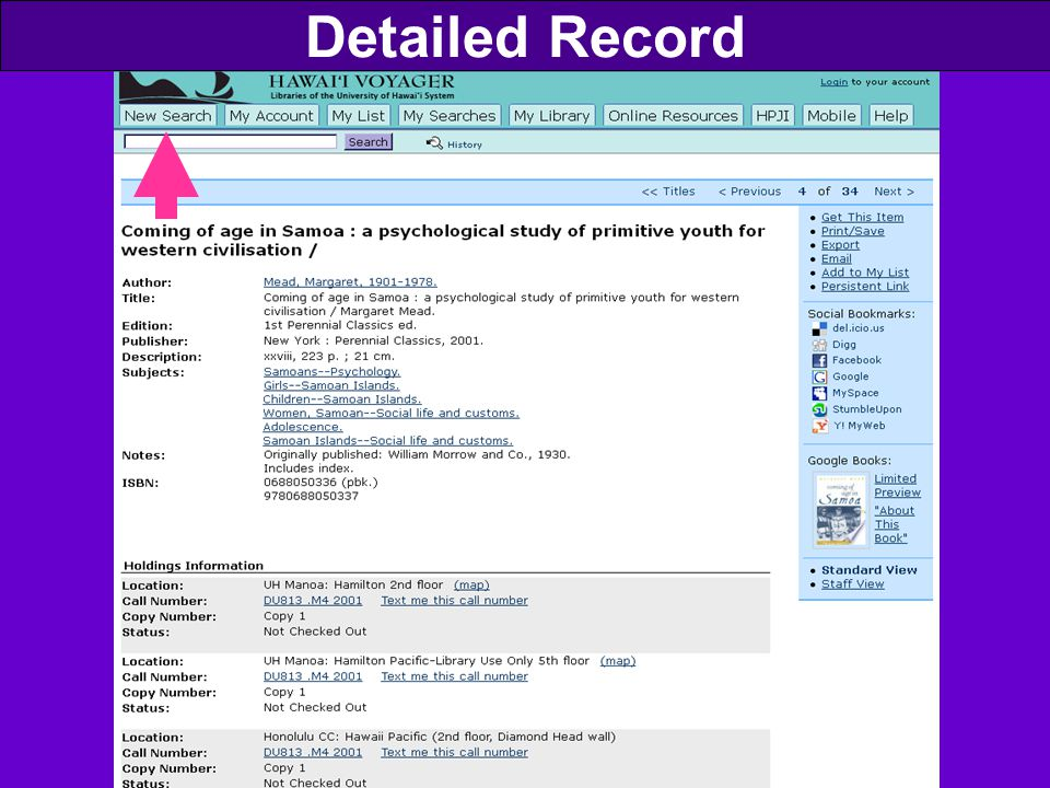 Detailed Record