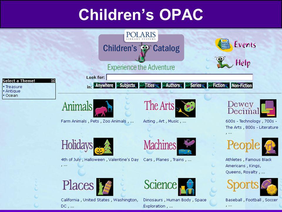 Children's OPAC