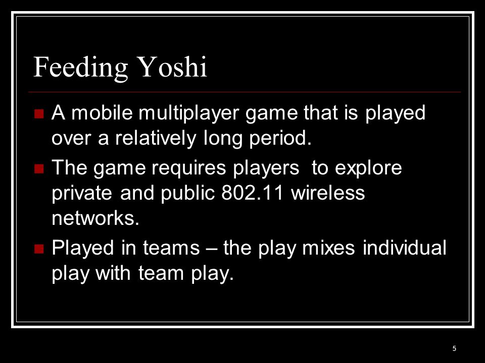 Thank You More about Feeding Yoshi