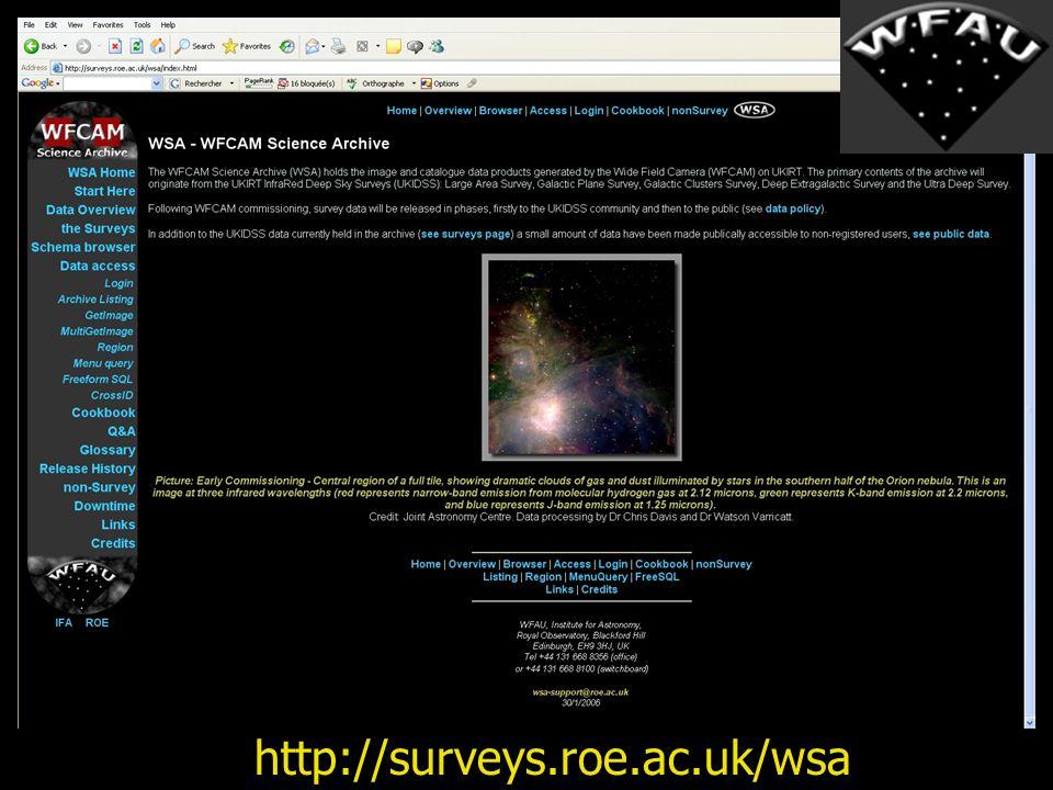 http://surveys.roe.ac.uk/wsa