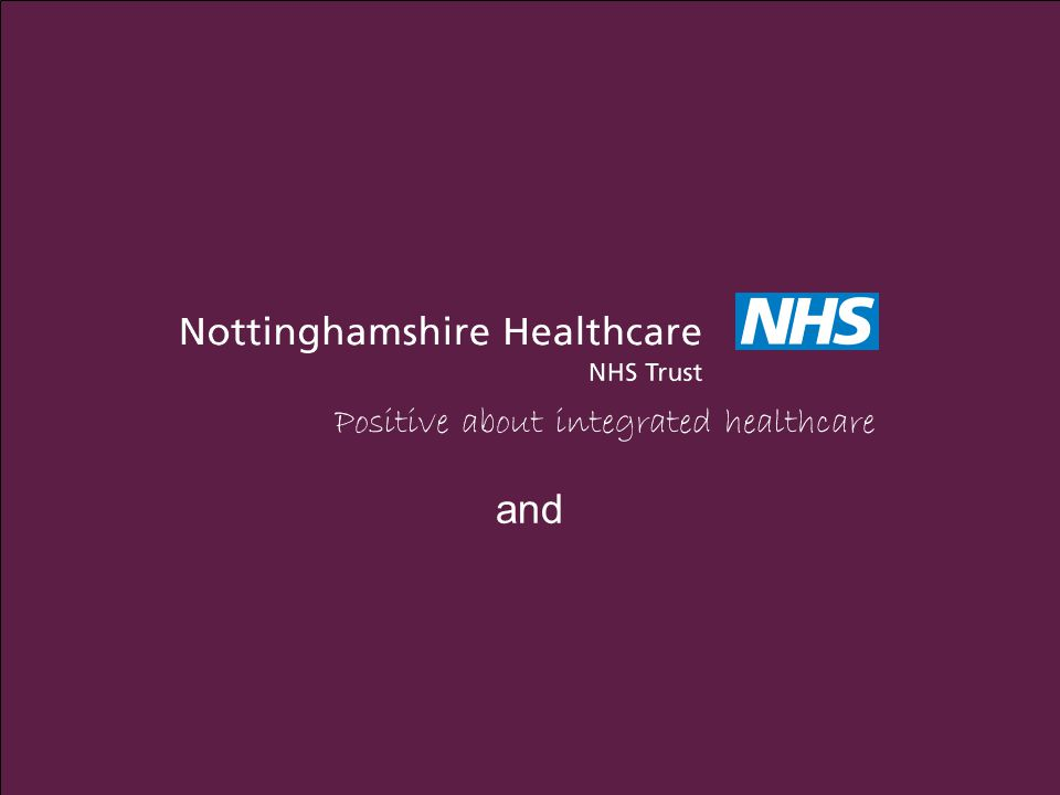 Positive about integrated healthcare and