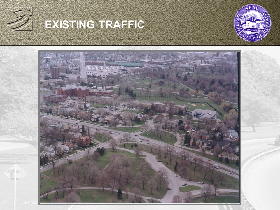 JANUARY 9, 2002 EXISTING TRAFFIC