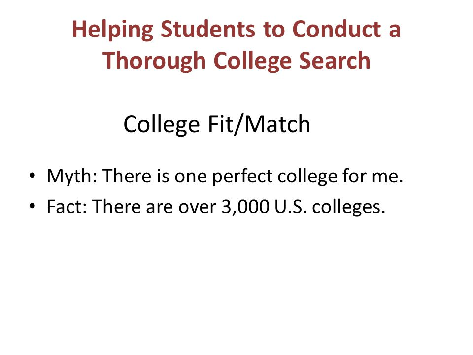 What does it do? Students can search and compare colleges