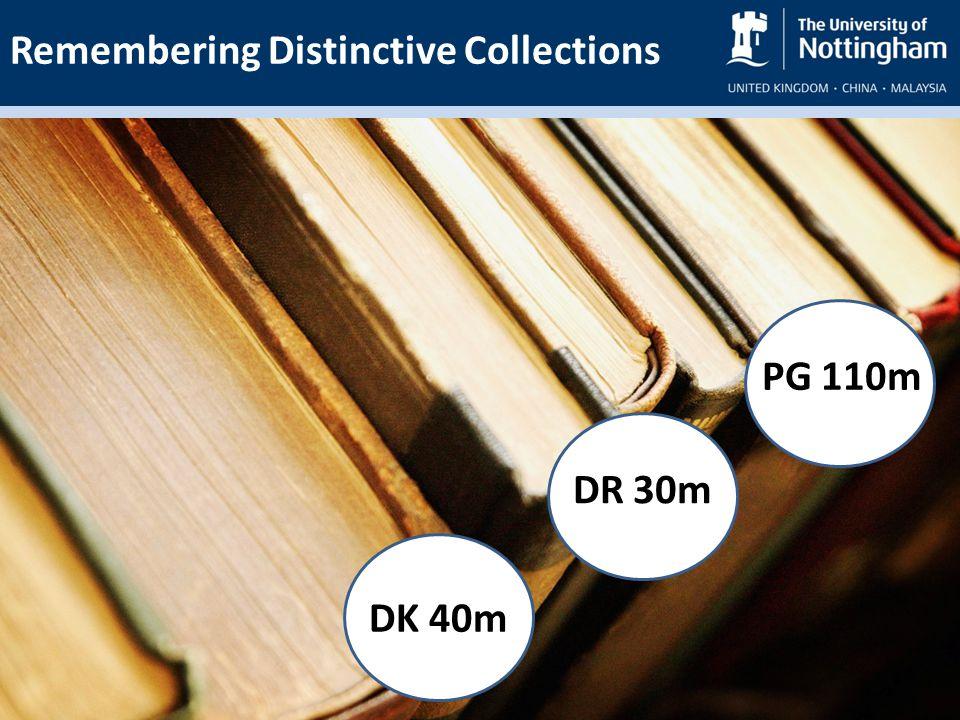 DK 40m DR 30m PG 110m