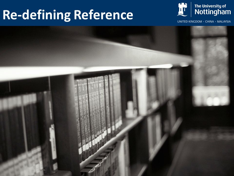 Re-defining Reference