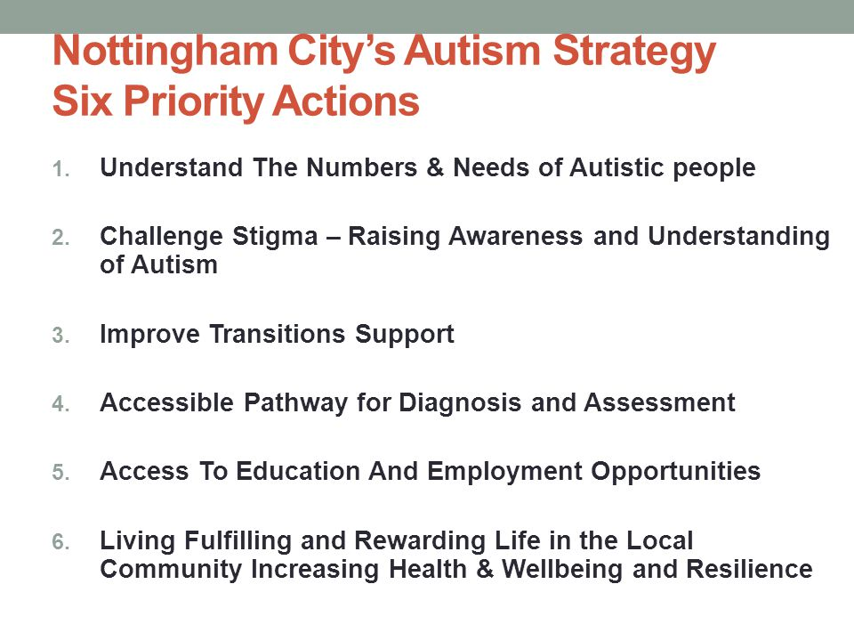 Launch Autism Strategy 8 th September 2014 at Albert Hall Nottingham 150+ people attended Speakers Performances – Lauren Lovejoy Autism friendly cinema viewings
