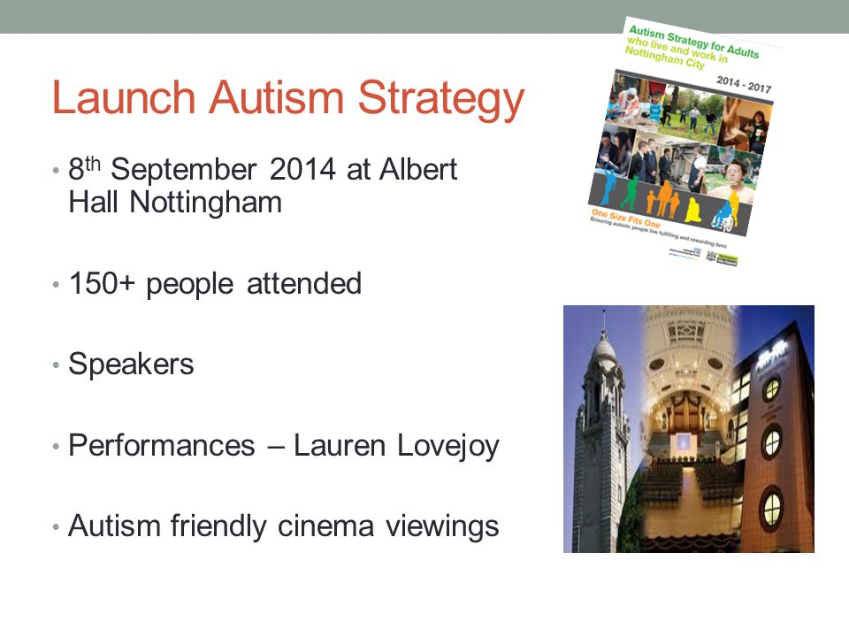 Launch Autism Strategy
