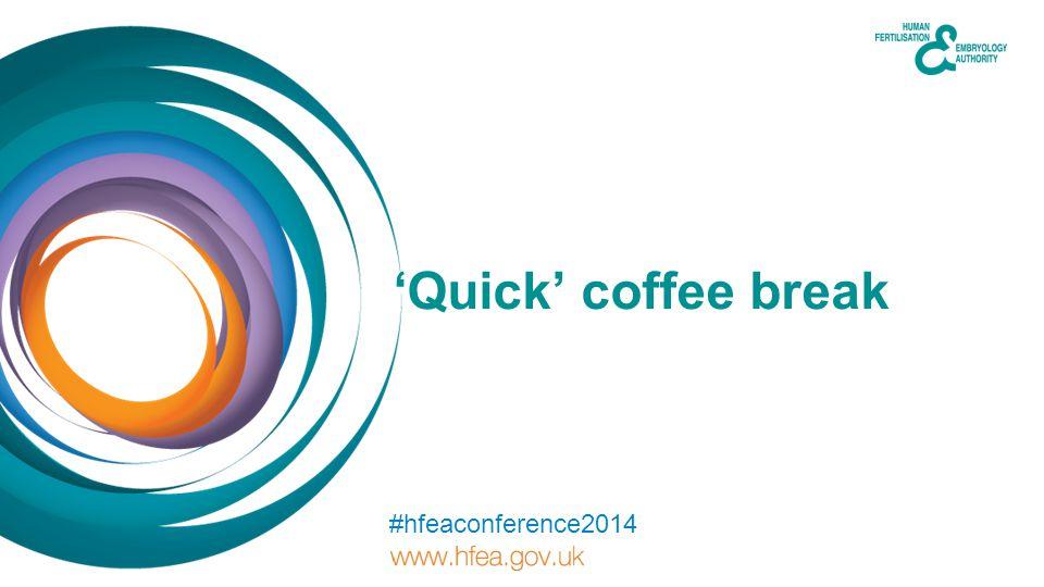 'Quick' coffee break