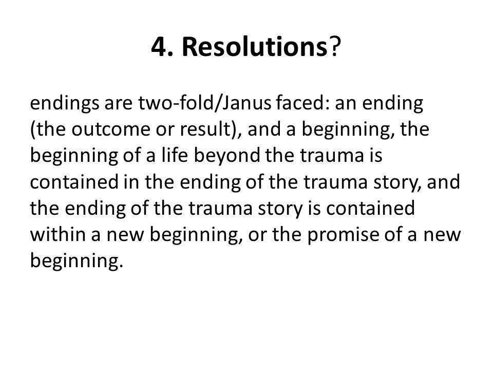 4. Resolutions.