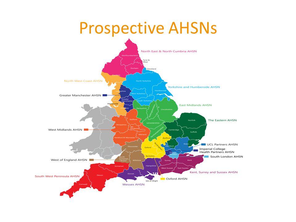 Prospective AHSNs