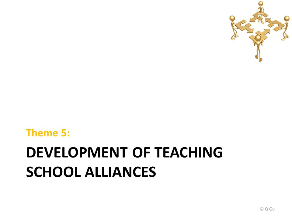 DEVELOPMENT OF TEACHING SCHOOL ALLIANCES Theme 5: © Q Gu