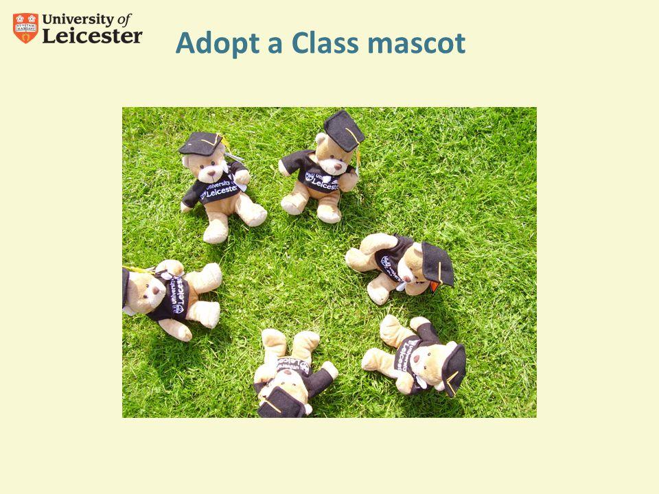 Adopt a Class mascot