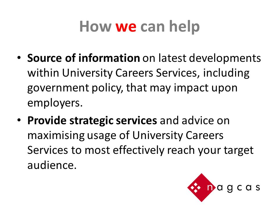 How our members can help Work Integrated Learning (WIL) Online Job Advertising.