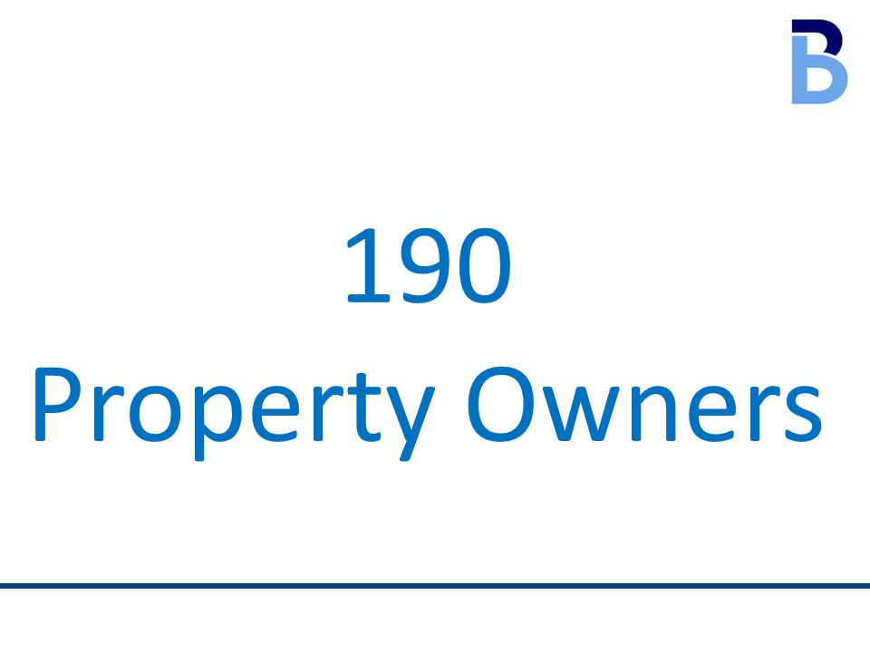 190 Property Owners