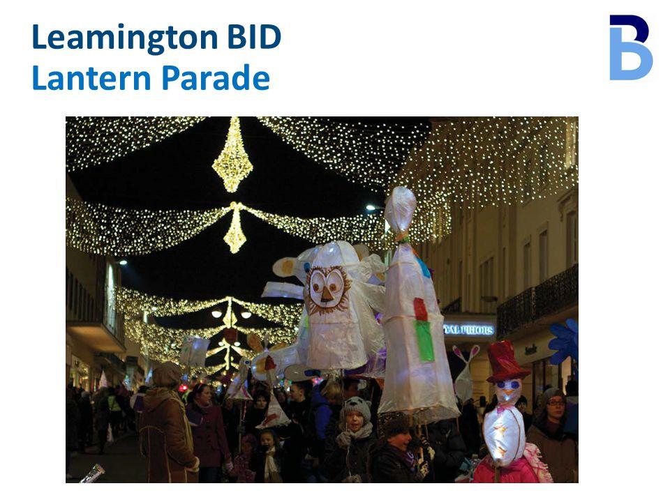 Leamington BID Lantern Parade