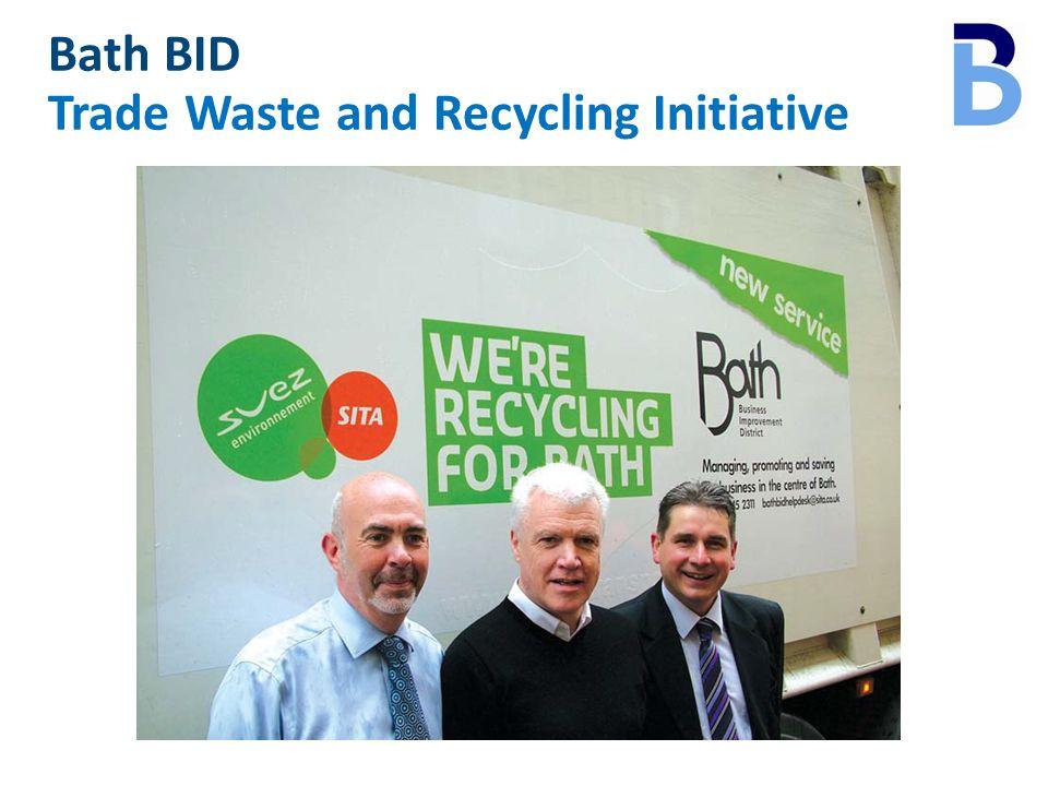 Bath BID Trade Waste and Recycling Initiative