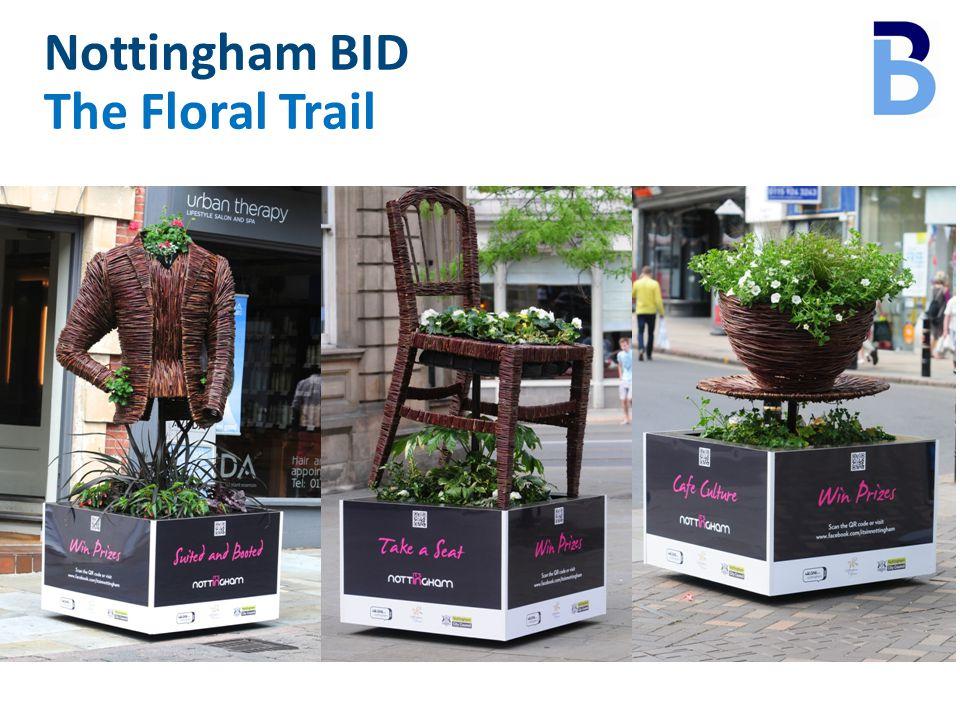 Nottingham BID The Floral Trail