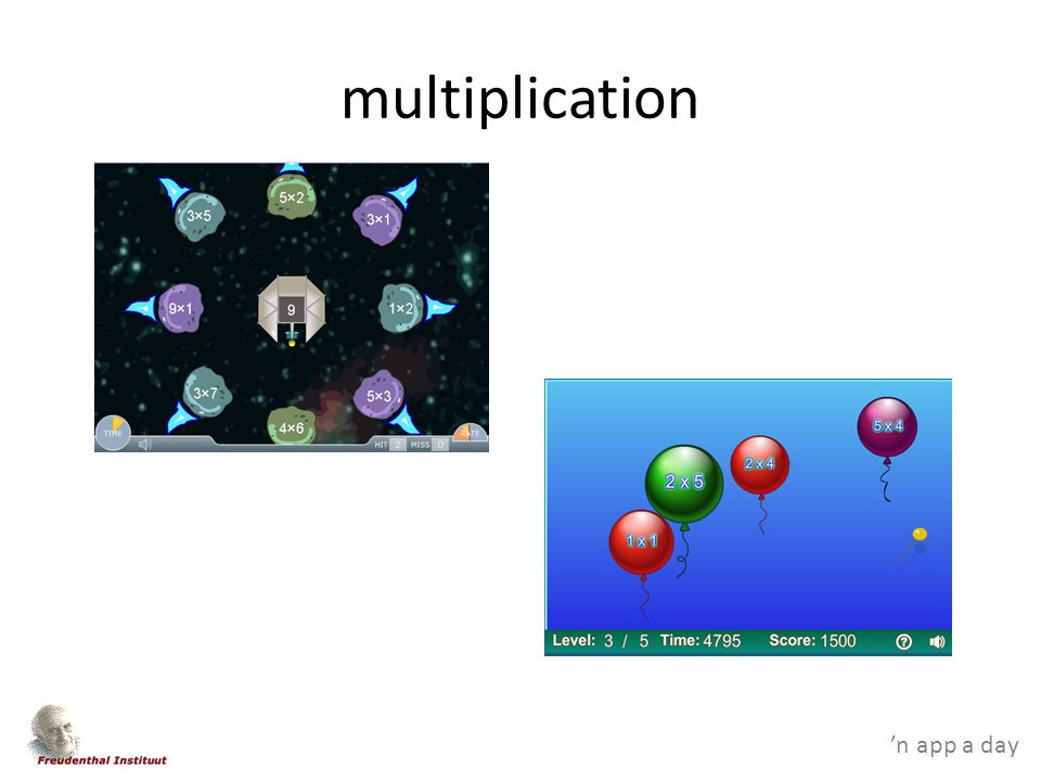 'n app a day multiplication