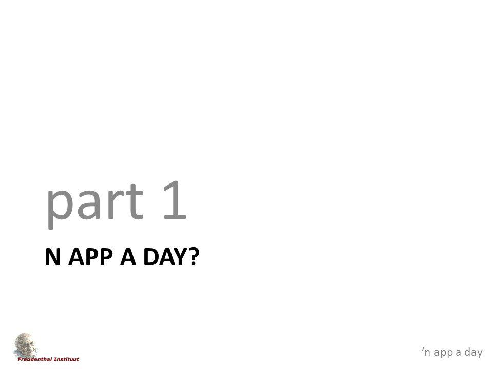 'n app a day FLOW part 2