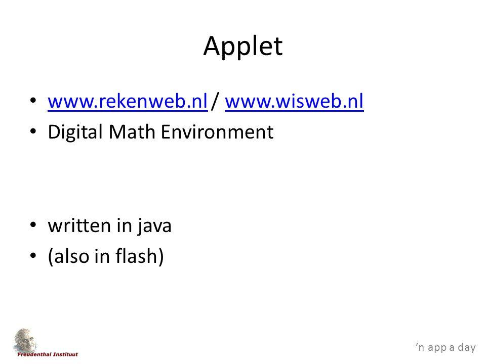 'n app a day problem solving