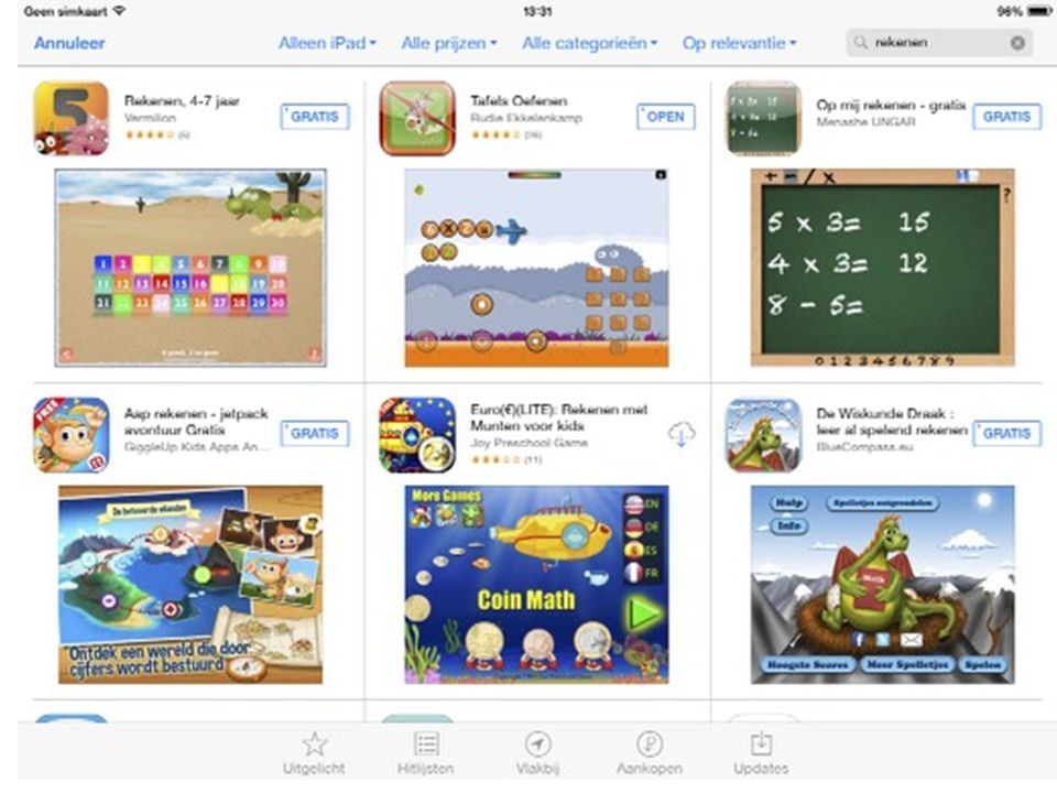 In the Netherlands we see Dutch publishers putting money into games for education