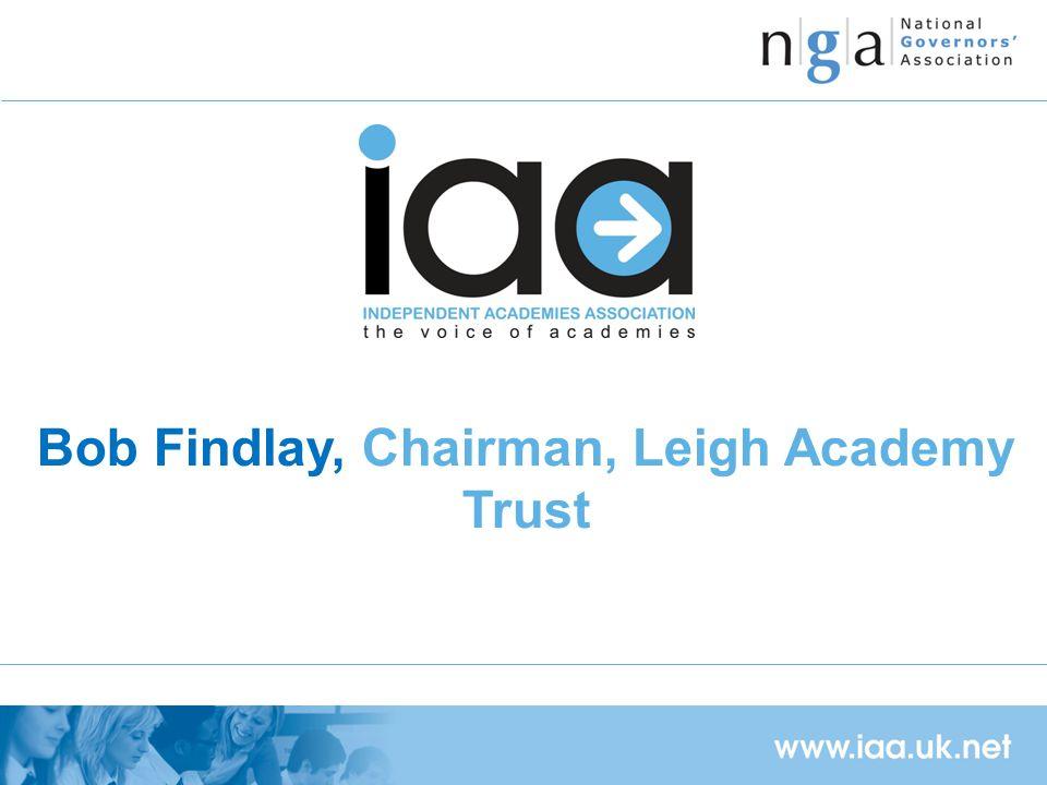 Bob Findlay, Chairman, Leigh Academy Trust